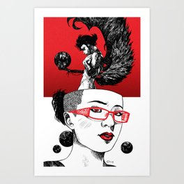 Flight of Fancies Art Print