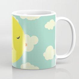 sunshine in clouds Coffee Mug