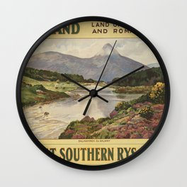 Vintage poster - Ireland Wall Clock