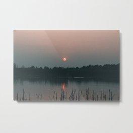 Glow Horizontal Metal Print