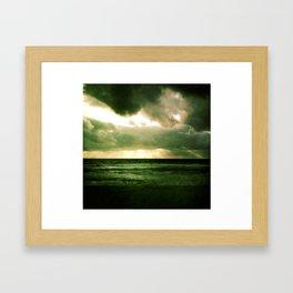 Tormented Sky Framed Art Print