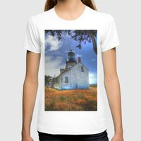 lighthouse T-shirts featuring Lighthouse by Christine Workman