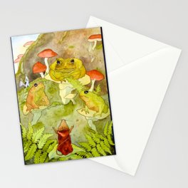 Toad Council Stationery Cards