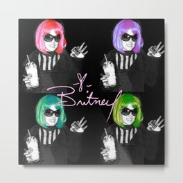 It's Britney B*tch Metal Print