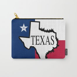 State of Teaxs Carry-All Pouch