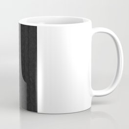 black pattern Coffee Mug
