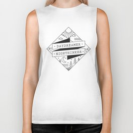 daydreamer nighthinker II Biker Tank