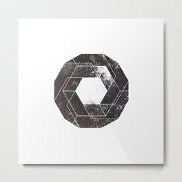 Geometry of the Milky Way Metal Print