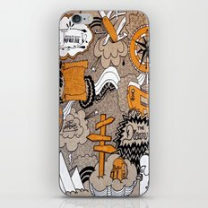 The Journey Is Part Of The Dream  iPhone & iPod Skin