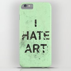 I HATE ART / PAINT Slim Case iPhone 6 Plus