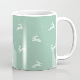Mint rabbits Coffee Mug