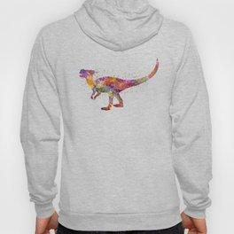 Dracorex dinosaur in watercolor Hoody