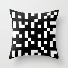Abstract Video Game Throw Pillow