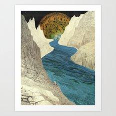 Exploration A Art Print