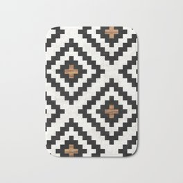 Urban Tribal Pattern No.16 - Aztec - Concrete and Wood Bath Mat