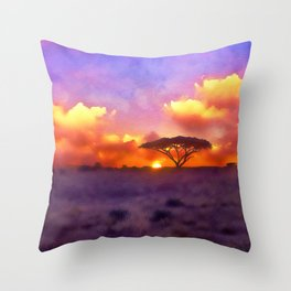 Into the Wild Throw Pillow