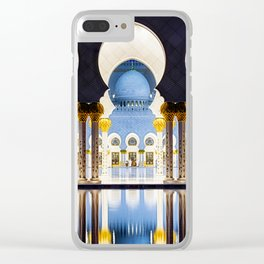 Sheikh Zayed Grand Mosque Clear iPhone Case