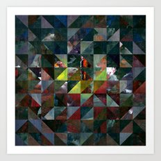 Colour Crystallization #3 Art Print