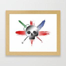 Willy Shakes Framed Art Print