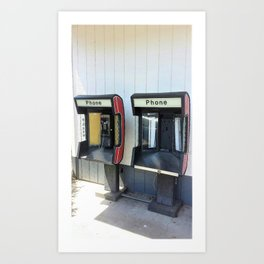 Where have all the pay phones gone? #5 Art Print
