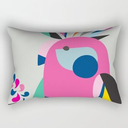 Miss galah Rectangular Pillow