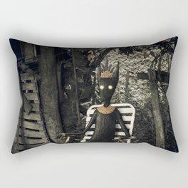Disfrutando del silencio Rectangular Pillow