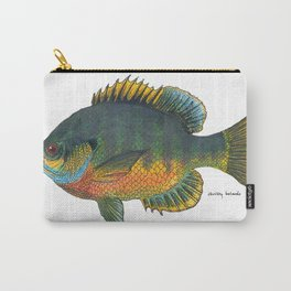 Blue Gill (in-color) Carry-All Pouch