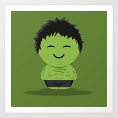 ChibizPop: It ain't easy being green! Art Print