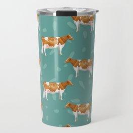 Guernseys // Spruce Travel Mug