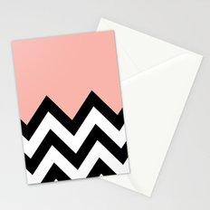 CORA COLORBLOCK CHEVRON  Stationery Cards
