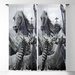 The Slaying Of The Dragon Blackout Curtain