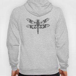 Filigree Skimmer black & white Hoody