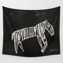 Zebra Collage Wall Tapestry