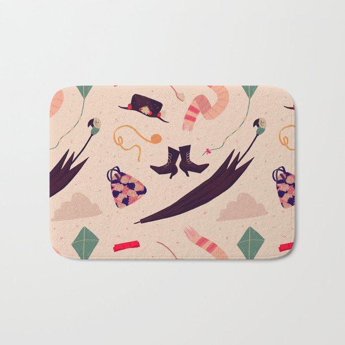 Practically Perfect Pattern Bath Mat