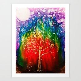 Roots of the Chakra Art Print
