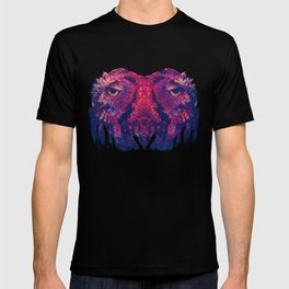 OWLS - Psychedelic | Art | Movement | Pop Art | Abstract | Animals | 70's | Trip  T-shirt