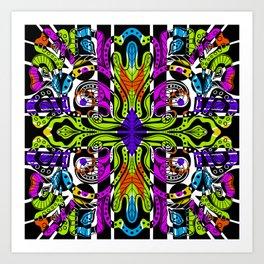 """""""Geometry Of Foliage"""" No.1   Bright And Beautiful Art Print"""