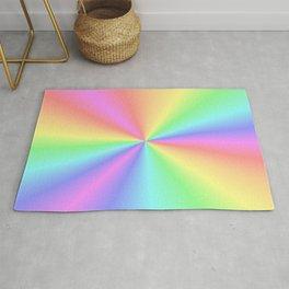 Rainbow Pattern 3 Rug
