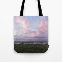 Morning's Blush Tote Bag