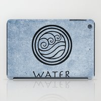 airbender iPad Cases featuring Avatar Last Airbender - Water by bdubzgear