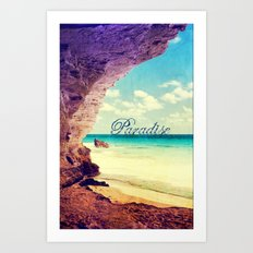 Paradise - for iphone Art Print