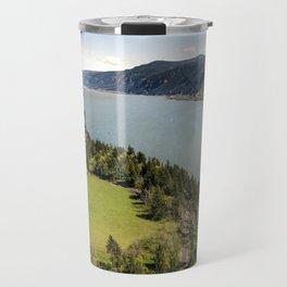 Columbia River Gorge Washington Travel Mug