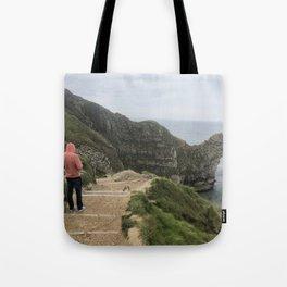 Path to Durdle Door England Tote Bag