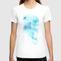 psychology T-shirts featuring a cold nebula by Gabrielle Agius
