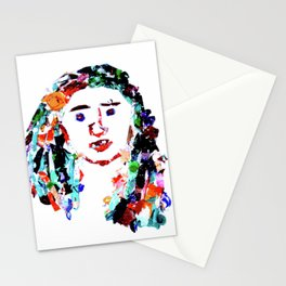 Dried Paint Person Stationery Cards