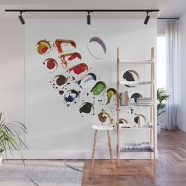 Watercolor palette - Painting - Colors Wall Mural