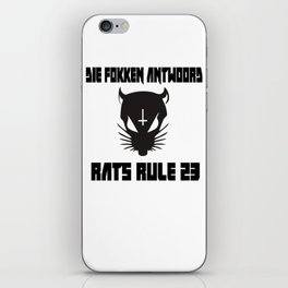 Rats Rule 23 iPhone Skin