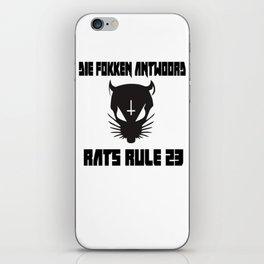 Rats Rule 23 iPhone Skin