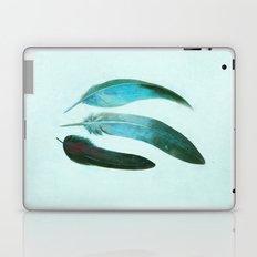 Blue Feathers  Laptop & iPad Skin