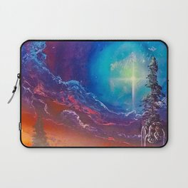 Strange Clouds Laptop Sleeve